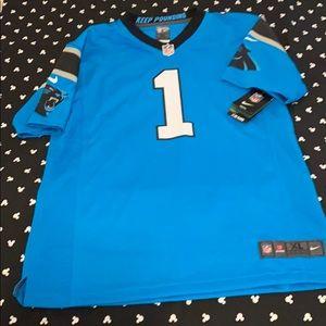 Carolina Panthers Newton Jersey! NWT